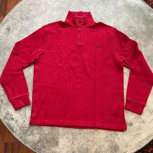 Polo Ralph Lauren Cotton Rib Quarter Zip Pullover